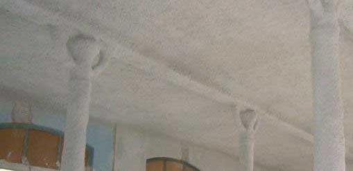 Forjado de bovedilla cerámica y vigas de madera