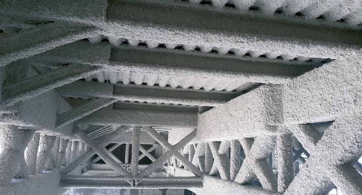 Protección de elementos de acero