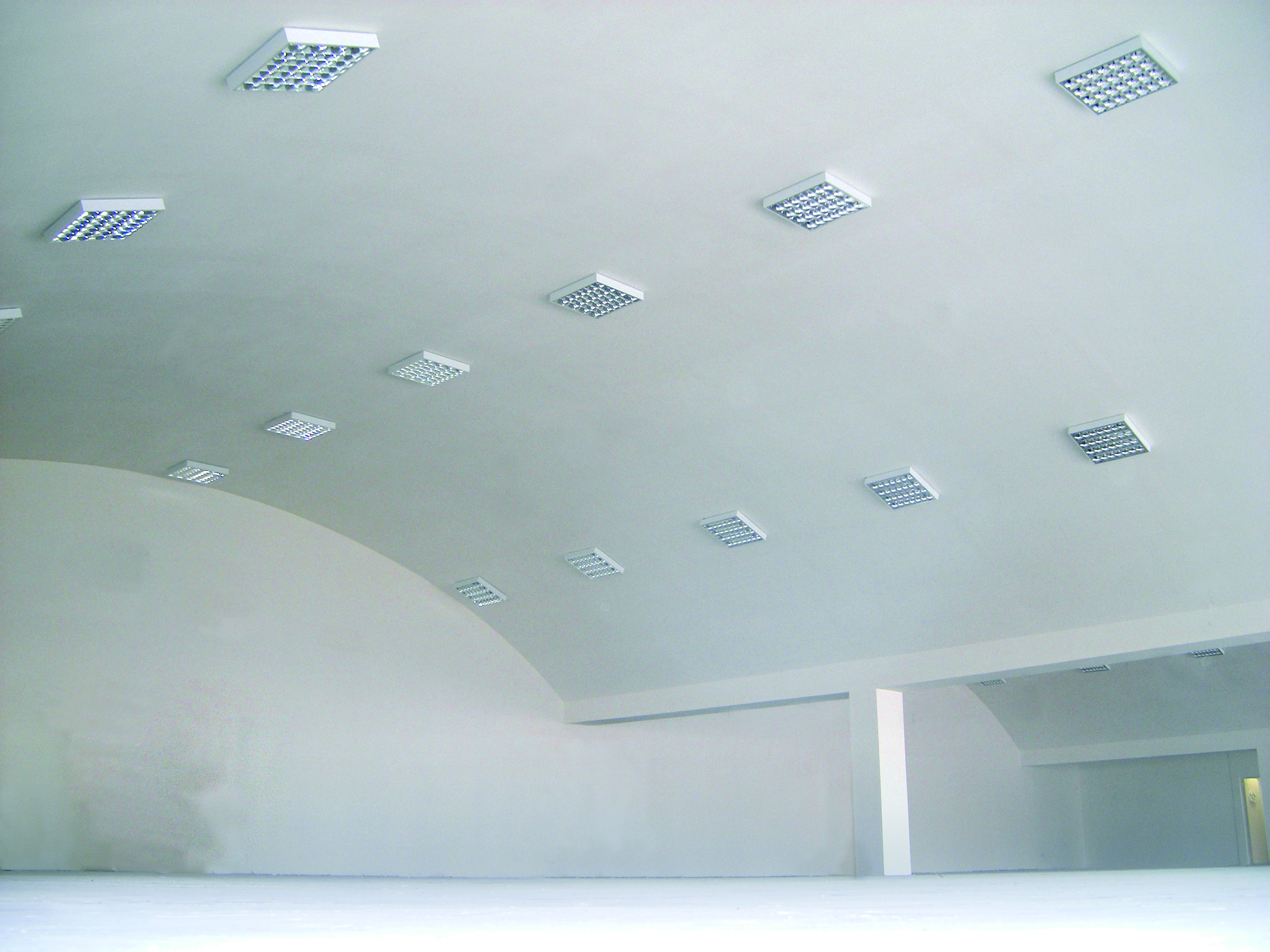 photo of finishing installation works stock suspended image ceilings